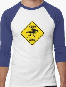 Xeno Xing Men's Baseball ¾ T-Shirt