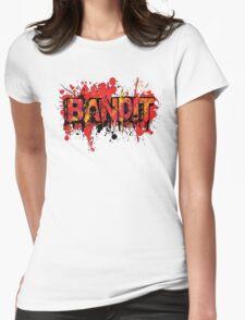 Bandit Graffiti (without slogan) Womens Fitted T-Shirt