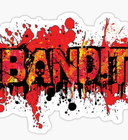 Bandit Graffiti (without slogan) Sticker