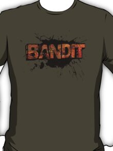 Bandit Corroded (without slogan)  T-Shirt