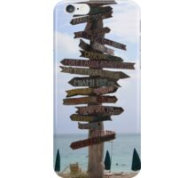 Which Way To Go? iPhone Case/Skin