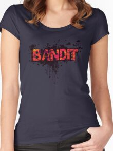 Bandit Homebrewed (without slogan) Women's Fitted Scoop T-Shirt
