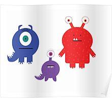 Monster Ties! Poster