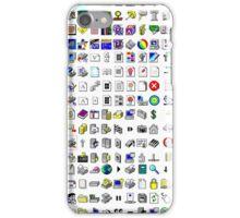 Windows XP icons iPhone Case/Skin