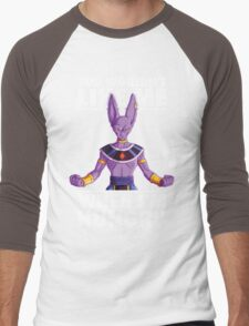 You Wouldn't Like Me When I'm Hungry (Beerus) Men's Baseball ¾ T-Shirt