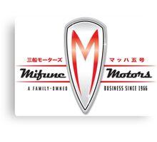 Mifune Motors Canvas Print