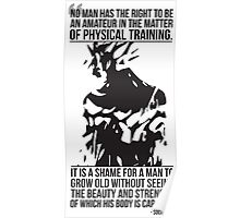 Physical Training, Strength and Beauty Poster