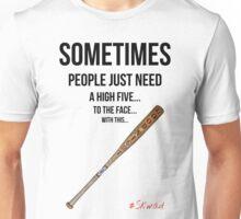 High Five Bat Unisex T-Shirt