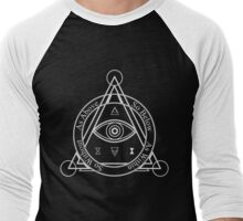 As Above, So Below, As Within, So WIthout [Dark] Men's Baseball ¾ T-Shirt