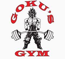 Goku's Gym (Black and Red Logo) Tank Top