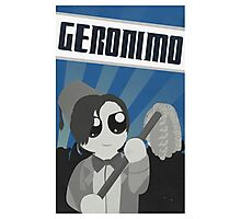 Geronimo! Propaganda Photographic Print