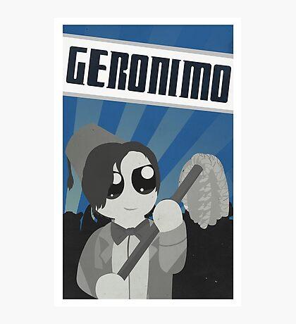 Geronimo! Propaganda Photographic Print
