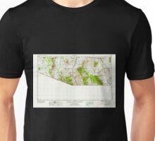 USGS TOPO Map Arizona AZ Nogales 315561 1956 250000 Unisex T-Shirt