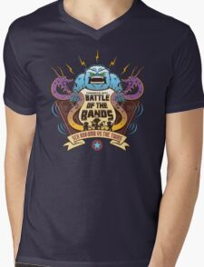 Sex Bob-Omb VS The Twins  Mens V-Neck T-Shirt