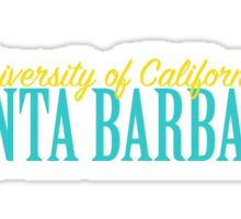 UCSB- University of California, Santa Barbara Sticker