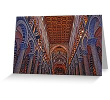 Pisa Cathedral, Pisa, Italy Greeting Card