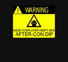 WARNING - AFTER-CON DIP (DUTCH VERSION) Hoodie