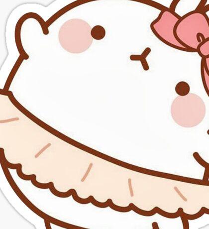 Ballerina Molang Sticker