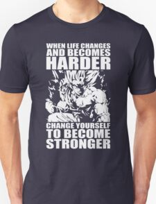 BECOME STRONGER Unisex T-Shirt