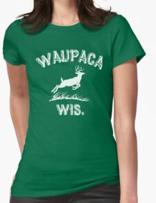 Waupaca Wis . Stranger Things Womens Fitted T-Shirt
