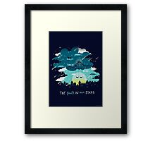 Stars and Constellations Framed Print