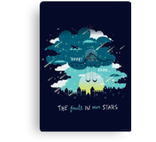 Stars and Constellations Canvas Print