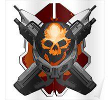Skull & Rifles Poster