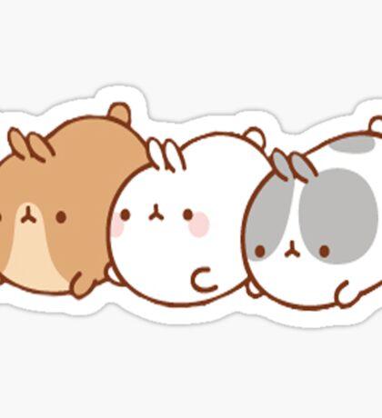 Molang Trio Sticker