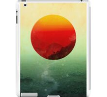 In the end the sun rises iPad Case/Skin