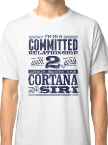 Cortana and Siri Classic T-Shirt