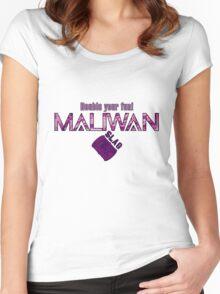 Maliwan Slag Women's Fitted Scoop T-Shirt