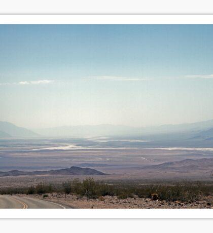 Looking into Death Valley Sticker