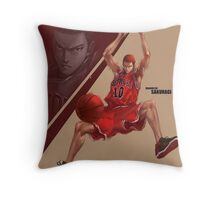 Most valuable in slam dunk Throw Pillow