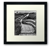 Inverness Boardwalk Framed Print