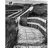 Inverness Boardwalk Photographic Print