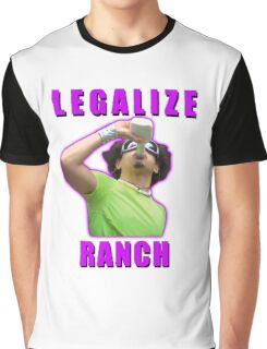 Legalize Ranch Version 1 Graphic T-Shirt