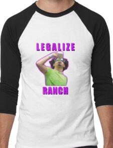 Legalize Ranch Version 1 Men's Baseball ¾ T-Shirt