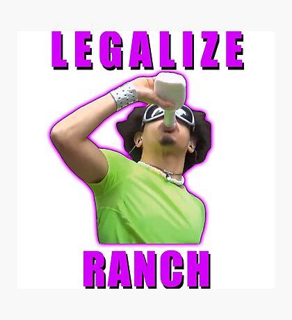 Legalize Ranch Version 1 Photographic Print
