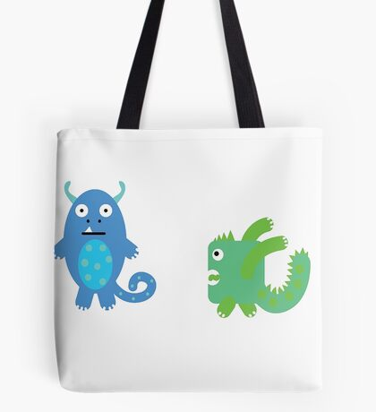 Monsters! Tote Bag