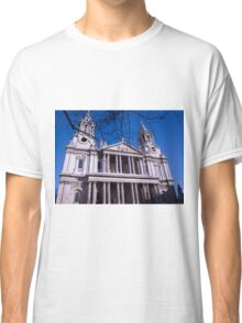 London St Pauls Cathedral Classic T-Shirt