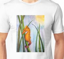 Seahorse in the Turtle Grass Unisex T-Shirt
