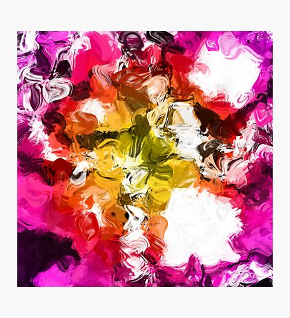 Colorful Mess Photographic Print