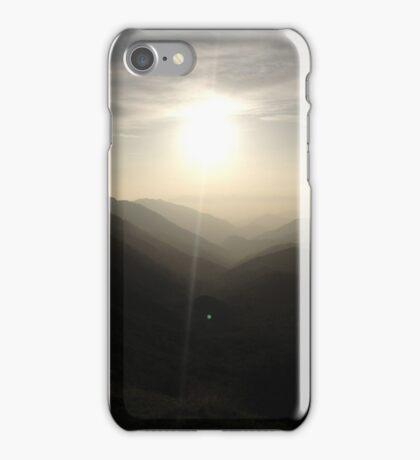 Sunset on Mountains iPhone Case/Skin