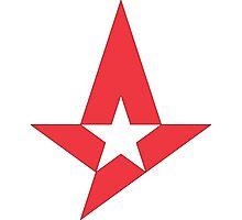 Astralis Logo (CSGO PRO TEAM) Photographic Print