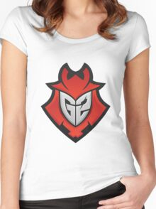 G2 E-Sports Logo (CSGO PRO TEAM) Women's Fitted Scoop T-Shirt