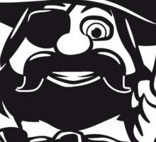 Pirat cool dreispitz witzig kinder  Sticker