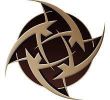 Ninjas In Pyjamas Logo (CSGO PRO TEAM) Photographic Print