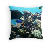 Under The Sea! Throw Pillow