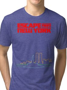 Escape from New York Tri-blend T-Shirt