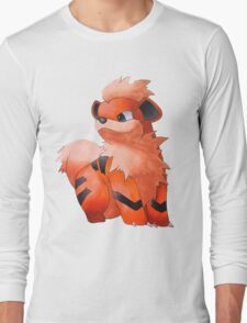 Pokemon Growlithe Long Sleeve T-Shirt